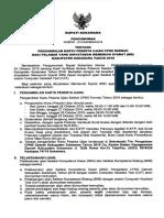 Pengumuman Pengambilan Kartu Peserta Ujuan Cpnsd Kab. Sukamara Th-2018