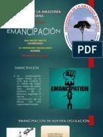 Presentación de emancipacion