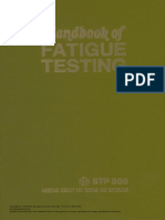 Handbook of Fatigue Testing
