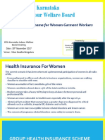 KLWB - Group Insurance Schemes for Female Garment Workers