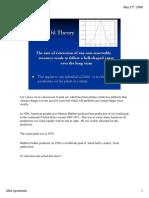 Peak Oil Theory