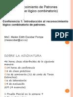 Conferencia 1