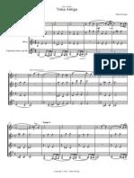E_Krieger_Valsa Antiga Quarteto - Partituras e Partes