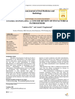pathogenesis hypoplasia