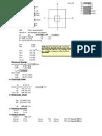 Single Footing Design_SI Units