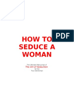 How to Seduce a Woman - A Gentleman's Guide