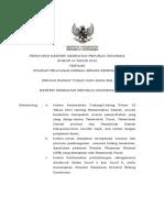 PERMEN KESEHATAN NO 43 TAHUN 2016 TENTANG STANDAR PELAYANAN MINIMAL BIDANG KESEHATAN.pdf