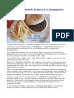 Happy Meal de McDonald's Se Resiste a La Descomposicion