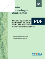 Brazilian Gold Mining Industry and Relations Amid ASM, MSM and LSM- Sustainable Development Initiatives