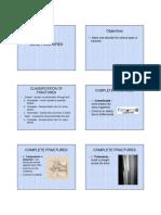 Bone Fractures Note