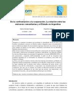 Segura y Linares - De La Confrontación a La Cooperación. Emisoras Comunitarias y El Estado