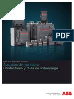 Aparatos de Maniobra.contactores y Reles de Sobrecarga_1TXA100024C0701-0709