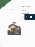 Proposal Gereja Binda Paroki Merakai Kabupaten Sintang