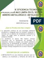 Centro de Eficiencia Tecnologia Metalexacto