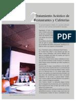 1- Acustica Restaurantes y Cafeterias