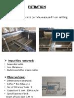 Filteration and Backwashing
