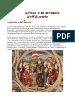 La Bandiera e Lo Stemma Dell'Austria