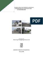 Survey Lapangan Pasca Gempabumi Dan Tsunami Aceh 26 Desember 2004