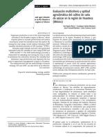 Aguilar-Riviera Et Al (2010) Evaluación Multicriterio y Aptitud Agroclimática Del Cultivo de Caña de Azúcar en La Región de Huasteca