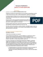Guía Para El Facilitador - En Revision Agosto 2016