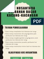 PPT Kue Nusantara Berbahan Dasar Tepung Terigu