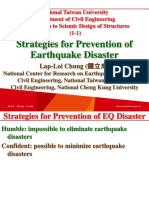 107 1 NTU SDS 1 1 Strategies for Prevention of Earthquake Disaster 0912