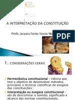 8. HERMENÊUTICA CONSTITUCIONAL