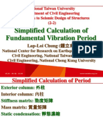 107 1 NTU SDS 2 2 Simplified Calculation of Period