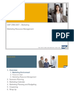 sap Marketing MRM