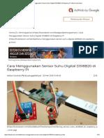 Cara Menggunakan Sensor Suhu Digital DS18B20 Di Raspberry Pi _ Narin Laboratory