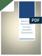 Aplicacion de Herramientas de Linux Openoffice Thunderbird MANUAL.docx