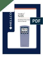 Nellcor N-65 Pulse Oximeter - Service Manual