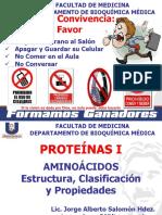 PROTEÍNAS I AMINOÁCIDOS