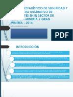 ESTADISTICAS ACCIDENTES 2014