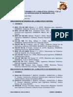 BIBLIOGRAFÍA DE DINÁMICA DE LA BIBLIOTECA CENTRAL Y DE LA BIBLIOTECA ESPECIALIZADA DE INGENIERÍA CIVIL.docx