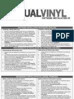 Virtual Vinyl Software Installation Procedure