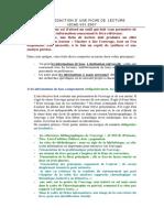 Guide Fiche de Lecture