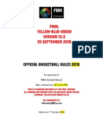 2018 Official Basketball Rules 2018 - 25 Sept 2018