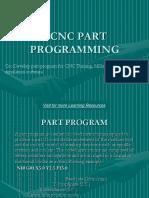 Chapter 3.Cnc Part Programming