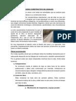Proceso Constructivo de Canales