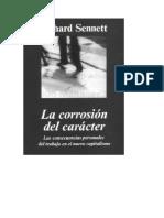 La Corrosion Del Caracter