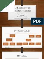 Medicamentos en Anestesia General