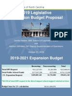 2018 - SBE Legislative Budget ExpansionPresentation f