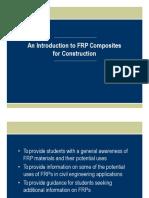 Fiber Reinforced Polymer types