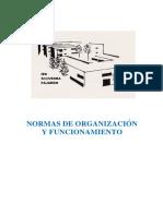 NORMAS DE ORGANIZACIÓN Y FUNCIONAMIENTO 2018-19