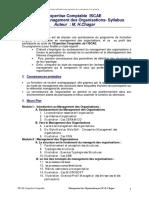 Expertise Comptable-MO Syllabus