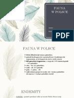 Fauna Polski