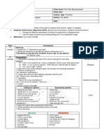 Unit 1 Function Lesson Plan First Year Bac