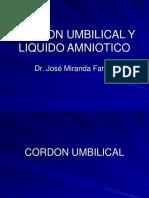 Cordon Umbilical y Liquido Amniotico, Dr. Miranda