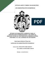 ESTUDIO DE VIABILIDAD COMERCIAL PARA LA EXPORTACIÓN DE REBAUDIÓSIDO A DE STEVIA AL MERCADO DE EE.UU, POR PARTE DE LA EMPRESA STEVIA ONE PERÚ S.A.C DE LA REGIÓN DE SAN MARTÍN